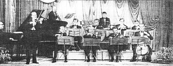 Jack Salisbury and his Salon Orchestra