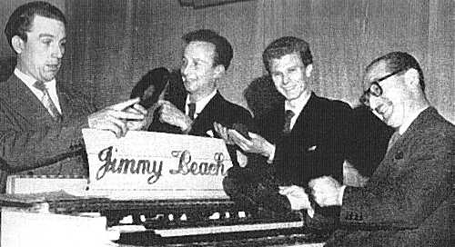 Jimmy Leach (right) and his Organolians