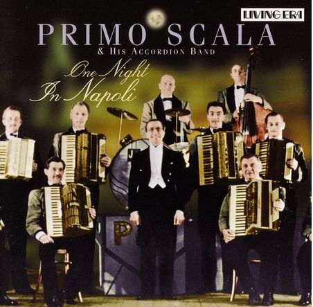 Primo Scala and his Accordion Band - CD cover